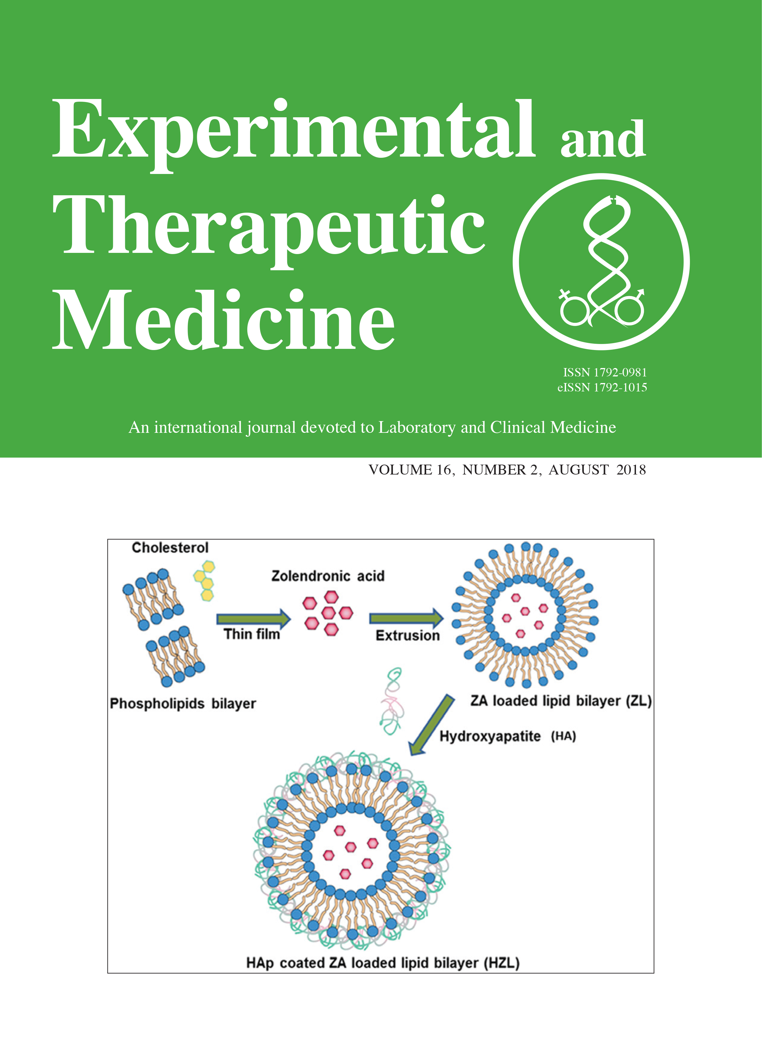 Experimental and Therapeutic Medicine