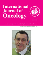 International Journal of Oncology