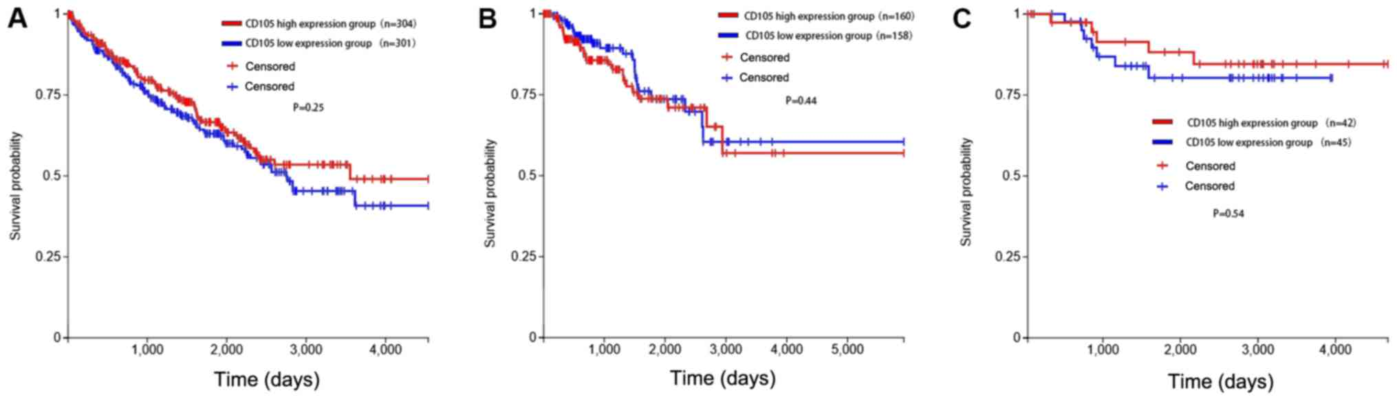 Expression and clinical value of CD105 in renal cell