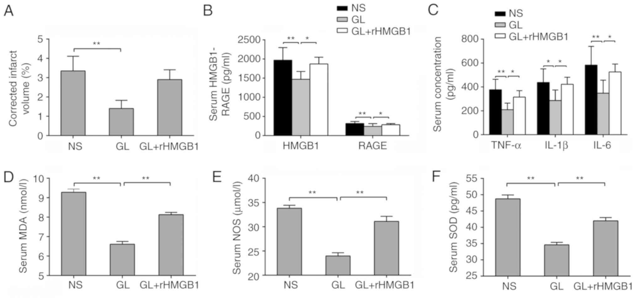 Effect of HMGB1 and RAGE on in injury and the protective ... on