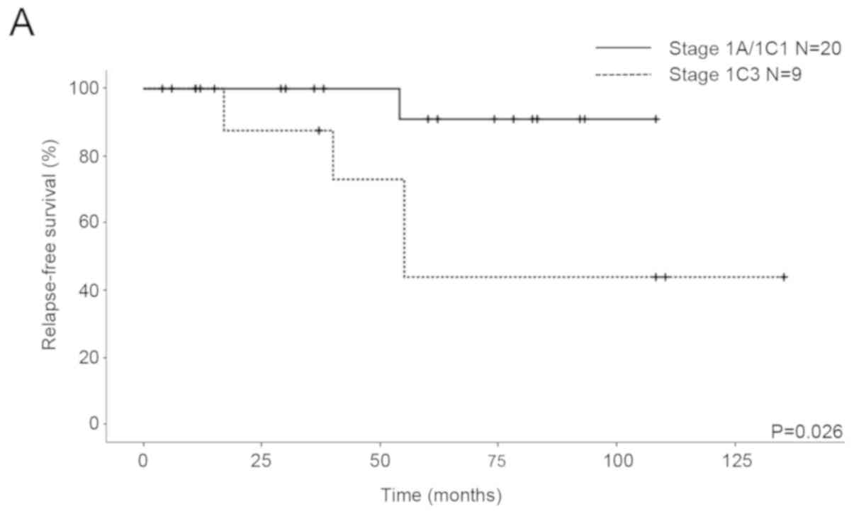 Clinical And Reproductive Outcomes Of Fertility Sparing Surgery In Stage I Epithelial Ovarian Cancer