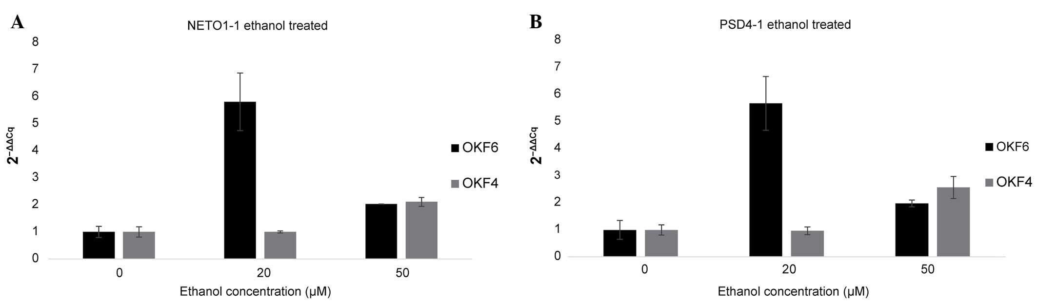 RNA‑seq analysis identifies key long non‑coding RNAs
